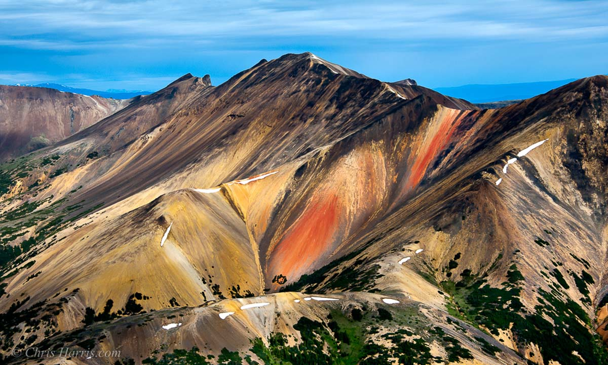 photography workshops, BC. The Rainbow Mountains