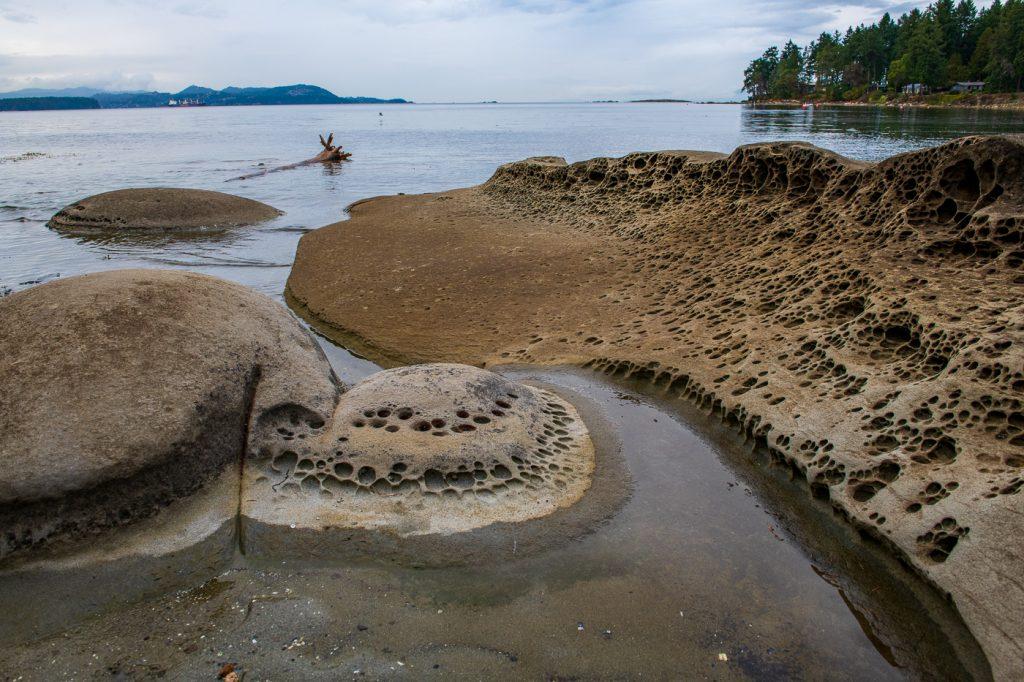 beach on Gabriola Island