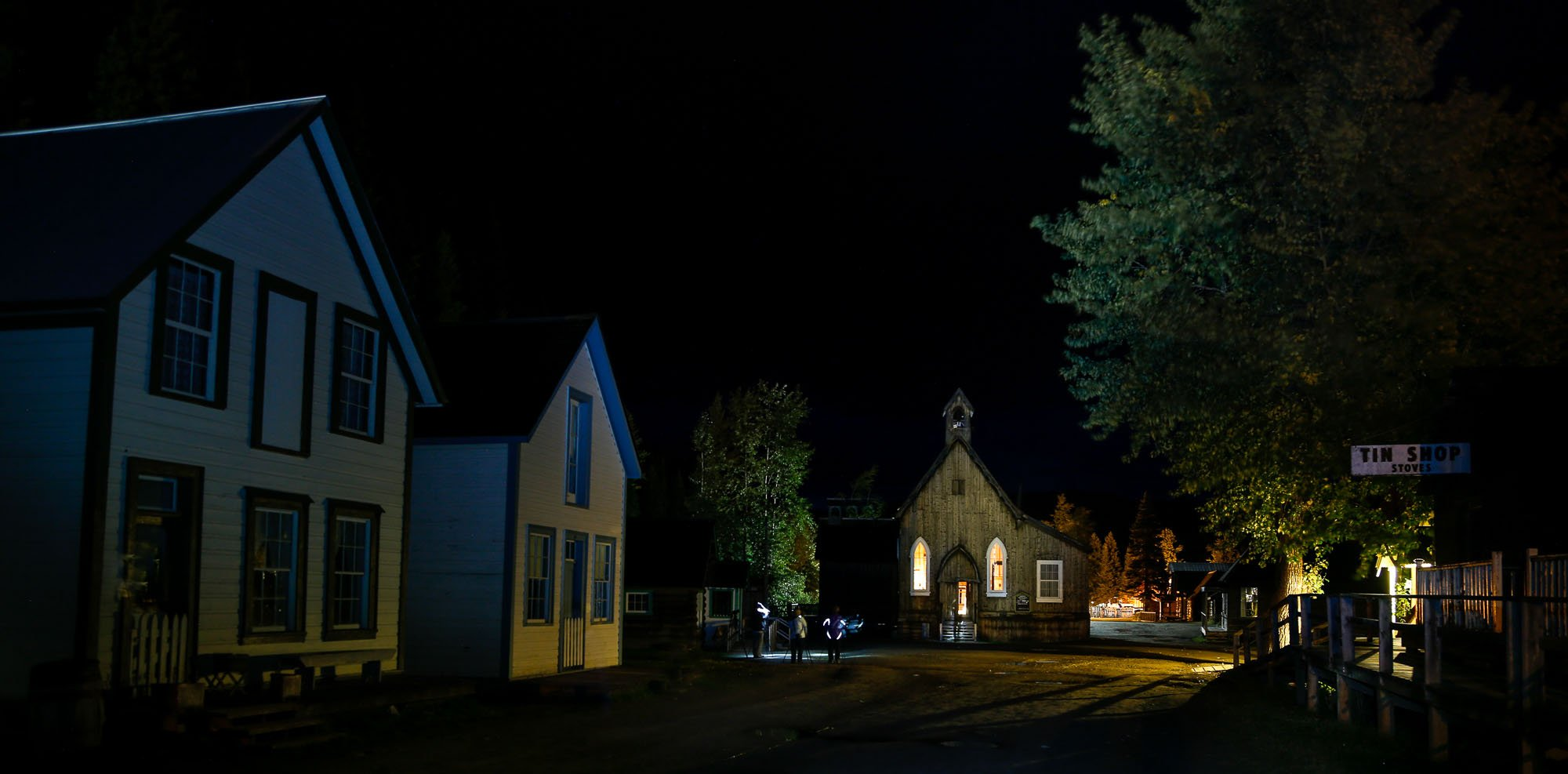 Barkerville Historic Town photographic workshop