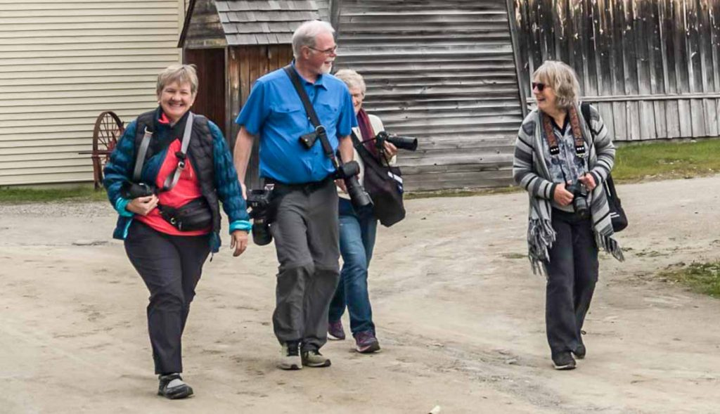 Barkerville creative photography workshop with Dennis Ducklow