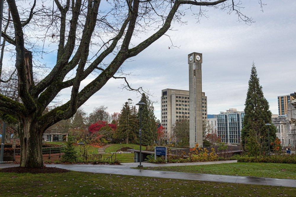 The University of British Columbia near Vancouver