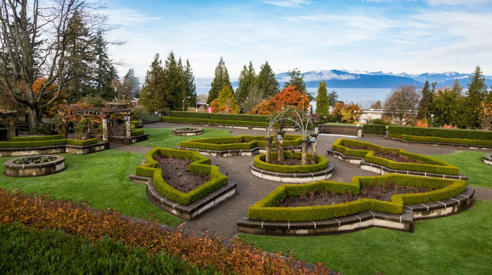 Gardens at UBC are attractive for creative photographers